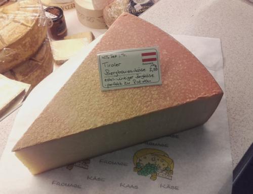 Produkt der Woche: Tiroler Bergbauernkäse