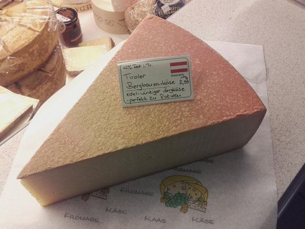 Feinkost30 Tiroler Bergbauernkäse